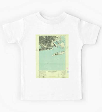 New York NY Coney Island 137694 1947 24000 Kids Tee