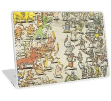 Dance Gavin Dance Instant Gratification Album Cover Laptop Skin