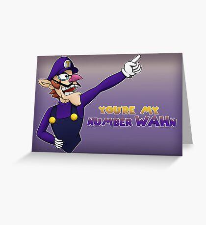 Waluigi Greeting Card