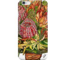 Bottle Brush & Orchids iPhone Case/Skin