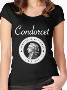 Condorcet, Democratizing science since 1794 Women's Fitted Scoop T-Shirt