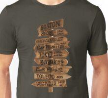 Signpost Korea Unisex T-Shirt