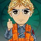Little Radar Technician by humansrsuperior