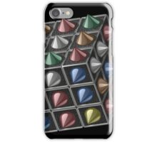 Metal cube iPhone Case/Skin
