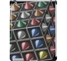 Metal cube iPad Case/Skin