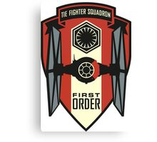 Star Wars: Tie Fighter Squadron Canvas Print
