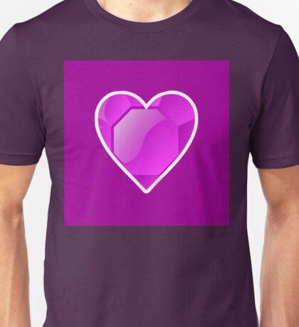 Jeweled Heart Unisex T-Shirt