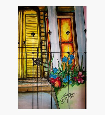 New Orleans Gated Garden Photographic Print