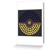 Umbreon Pokeball Greeting Card