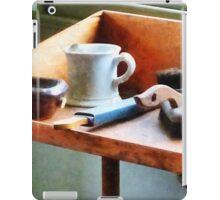 Shaving Mug, Razor and Brushes iPad Case/Skin
