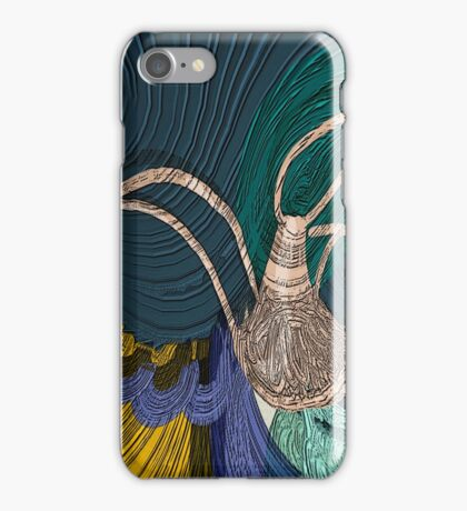 Still life with Kohlrabi iPhone Case/Skin