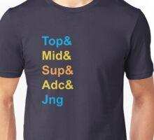 Know Your Role (Color) Unisex T-Shirt