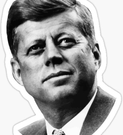 President Kennedy Sticker