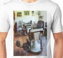 Two Barber Chairs Unisex T-Shirt