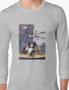 Kungfu panda heroes Long Sleeve T-Shirt