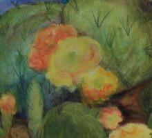 Tucson Cactus MM151207f-12 Sticker