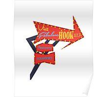 Visit Fabulous Hook Isle Poster
