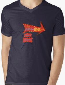 Visit Fabulous Hook Isle Mens V-Neck T-Shirt
