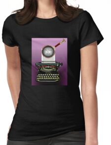 Arthur Conan Doyle Knows The Game Is Afoot! Womens Fitted T-Shirt
