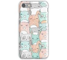 Animal Friends iPhone Case/Skin