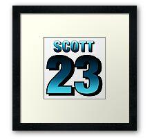 Nathan Scott23 Framed Print