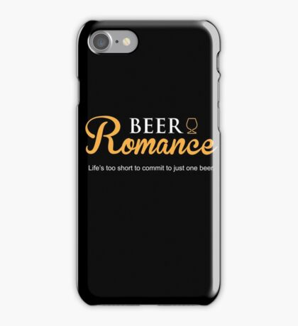 Beer Romance iPhone Case/Skin