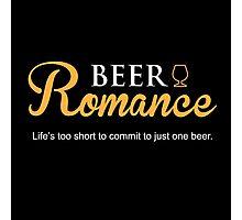 Beer Romance Photographic Print