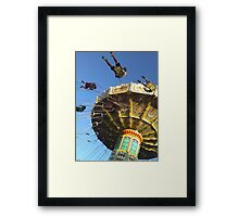 SWING Riders    Royal Easter Show Sydney Framed Print