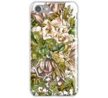 Magnolias & Hydrangeas iPhone Case/Skin