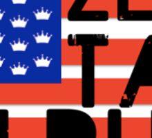 ZTA flag Sticker
