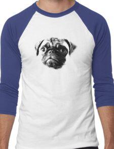 Tough Life Pug Men's Baseball ¾ T-Shirt