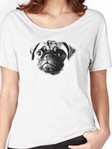 Tough Life Pug Women's Relaxed Fit T-Shirt
