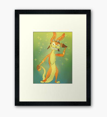 Daxter-tude Framed Print