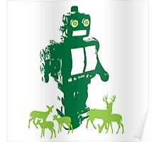 Robots and Nature II Poster