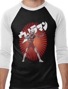 UltraMan Japanese Fun Time Men's Baseball ¾ T-Shirt