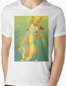 Daxter-tude Mens V-Neck T-Shirt