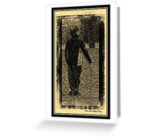 The Young Chaplin Greeting Card