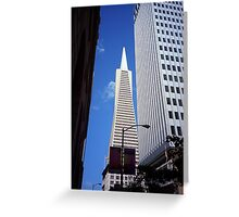 San Francisco - Transamerica Pyramid Building Greeting Card