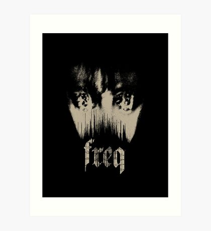 freq Art Print
