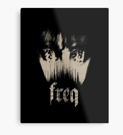 freq Metal Print