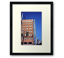 San Francisco Hotel Pickwick Framed Print