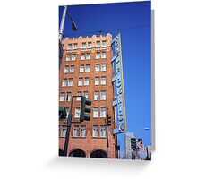 San Francisco Hotel Pickwick Greeting Card