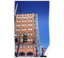 San Francisco Hotel Pickwick Poster