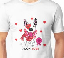 Theresa Pit bull Princess of Love Unisex T-Shirt