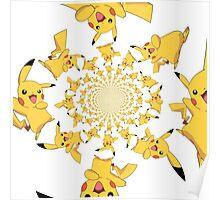 Raining Pikachus Poster