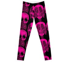 SEE NO EVIL , HEAR NO EVIL , SPEAK NO EVIL Leggings