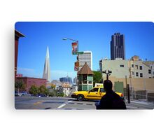 San Francisco Powell Street 2007 Canvas Print