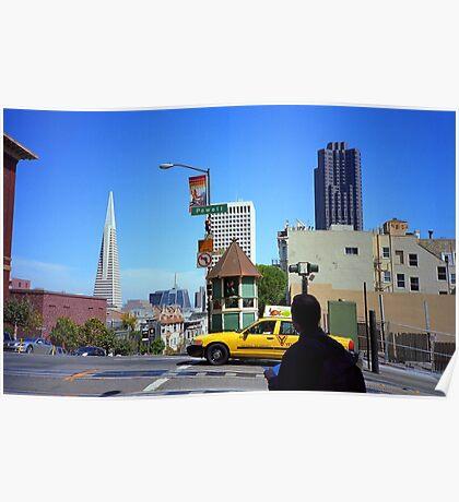 San Francisco Powell Street 2007 Poster