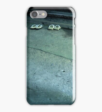 Please leave your shoes at the door... iPhone Case/Skin