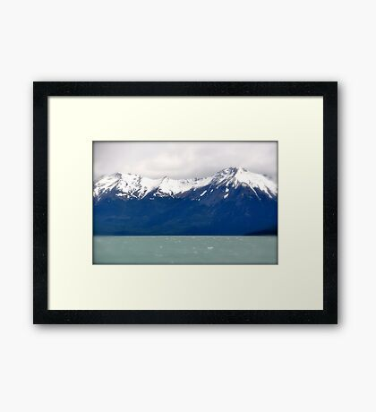 Remembering the Andes Framed Print